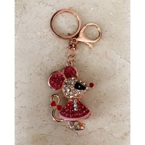 Mouse Bling Keychain